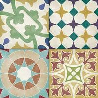 Parian set of 12 Multiuse Coloured Decors