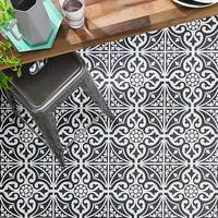 Devonstone Feature Floor Black Tiles