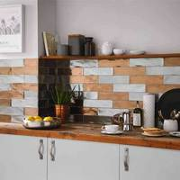 Industrial Silver Wall Tiles
