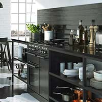 Industrial Matt Black Wall Tiles