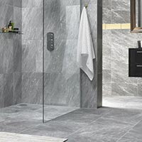 HD Harmony Grey Marble Floor