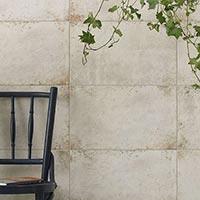 HD Galvanised Platinum White Wall & Floor