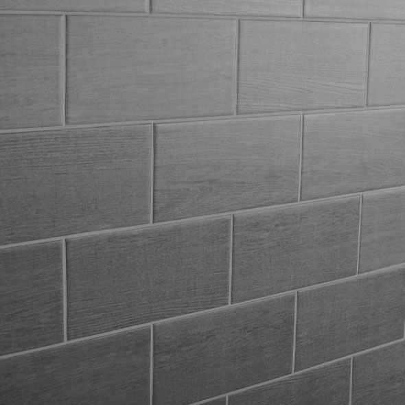 Bergen Grey Ebony Matt Tiles