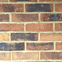Autumn Blaze Handmade Brick Slip Tiles