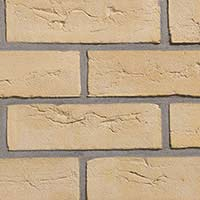 Camden Yellow Handmade Brick Slip Tiles