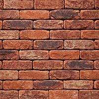 Coach House Blend Handmade Brick Slip Tiles