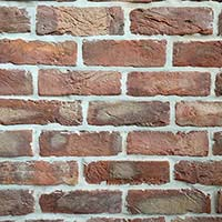 Red Clamp Handmade Brick Slip Tiles