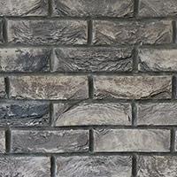 Slate Grey Handmade Brick Slip Tiles