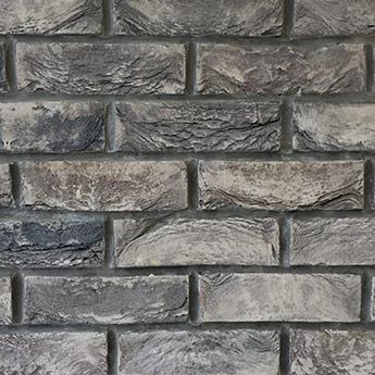 Slate Grey Handmade Brick Slips - BRSL-SLT-GRY – Tilesporcelain