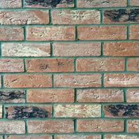 Westminster Blend Handmade Brick Slip Tiles