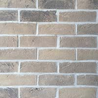 Weathered Sandstock Handmade Brick Slip Tiles