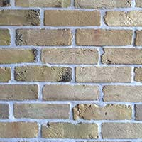 Yellow Stock Handmade Brick Slip