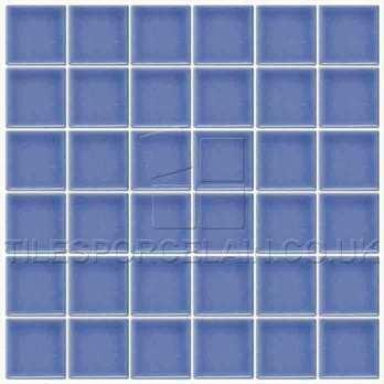 BT-730 Pool Marine Blue Mosaic Tiles