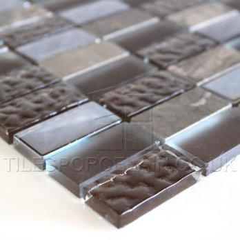 Chocolate And Marble Mosaic