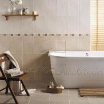 White Field Buxton Ceramic Tiles