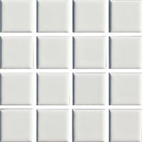 Ceramic Pool Gloss White Mosaic