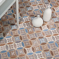 Belli 45 Moresque Encaustic Effect Tile