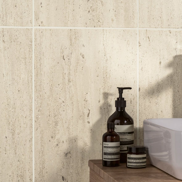 Classics Travertine Satin Ceramic Tile