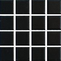 Ceramic Pool Matt Black Mosaic