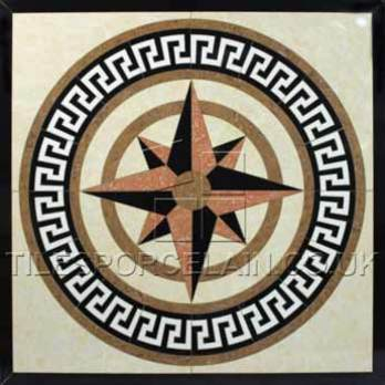 Compass Cream Porcelain Tiles