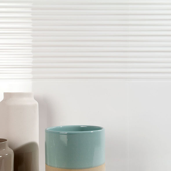 Eminence White Gloss Wall Tiles