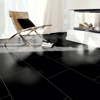 Super Black Matt Porcelain Tiles