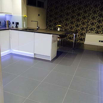 Medium Grey Matt Porcelain
