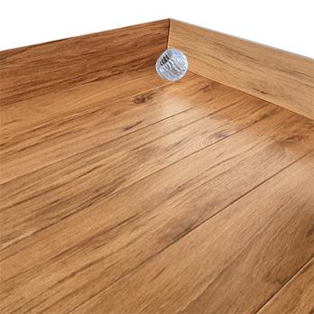 NEW 4 X Floor Door Stop Polished Each FreePost.UK Seller