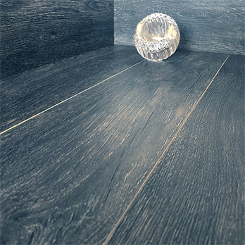 Dark Grey Wood Effect Porcelain