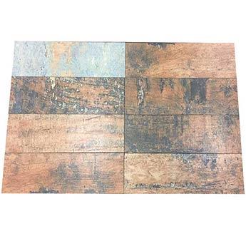 Reclaimed ceramic tiles