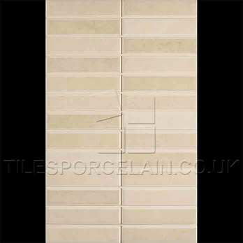 Laura Ashley Malvern Mosaic Beige Ceramic Tiles