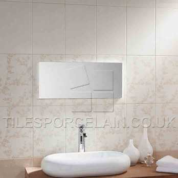 Laura Ashley Ceramic Wall Lights : Laura Ashley Wintergarden Light Beige Ceramic Wall Tiles LA51126 Tilesporcelain