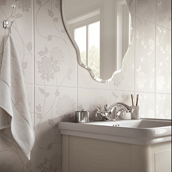 Laura Ashley Isadore Floral Wall Tiles La51898