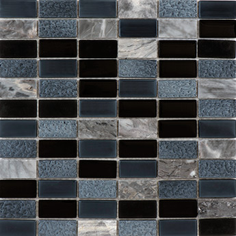 Pewter And Marble Mosaic