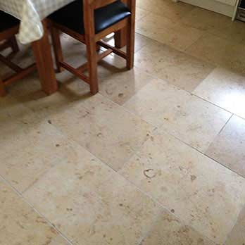 Fossil Limestone Cream Polished Tiles