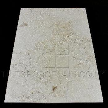 Fossil Limestone Cream Honed Tiles