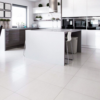 Supreme White Matt Porcelain Tiles