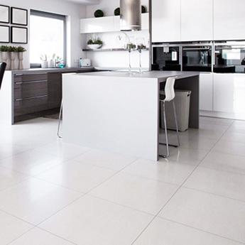 Supreme White Matt Porcelain Tiles