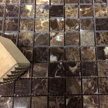 Spanish Dark Emperador Mosaics Marble Tiles Tilesporcelain