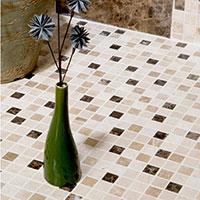 Emperador Mixed Mosaics Polished Tile