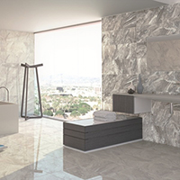 Silver Grey Polished Marble