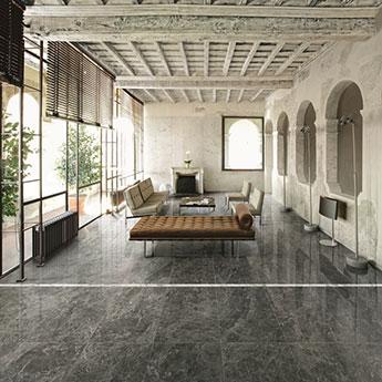 Roma Grey Marble Tiles