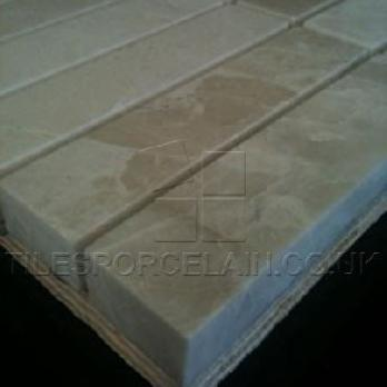 Polished Creme Pearl Mosaic Tiles