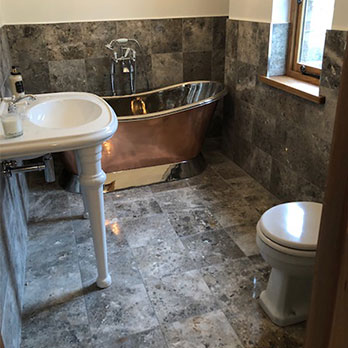 Orion Grey Marble Tiles