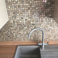 Orion Grey Marble Mosaics