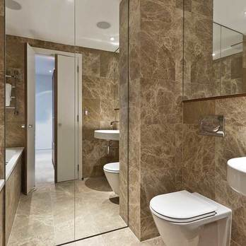 Spanish Emperador Brown Marble Effect Porcelain Tiles