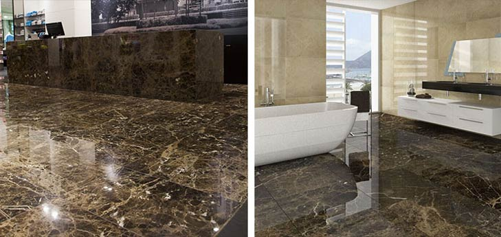 spanish dark emperador marble tiles