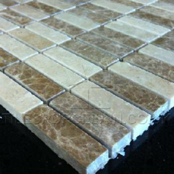 Domino Light Mix Marble Tiles