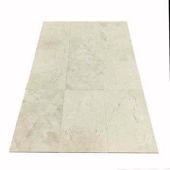 Crema Marfil Polished Marble Tiles