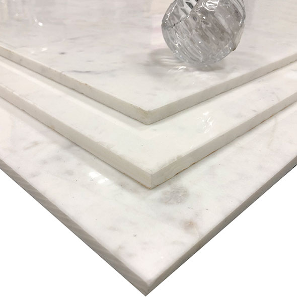 White Veined Marble Tiles